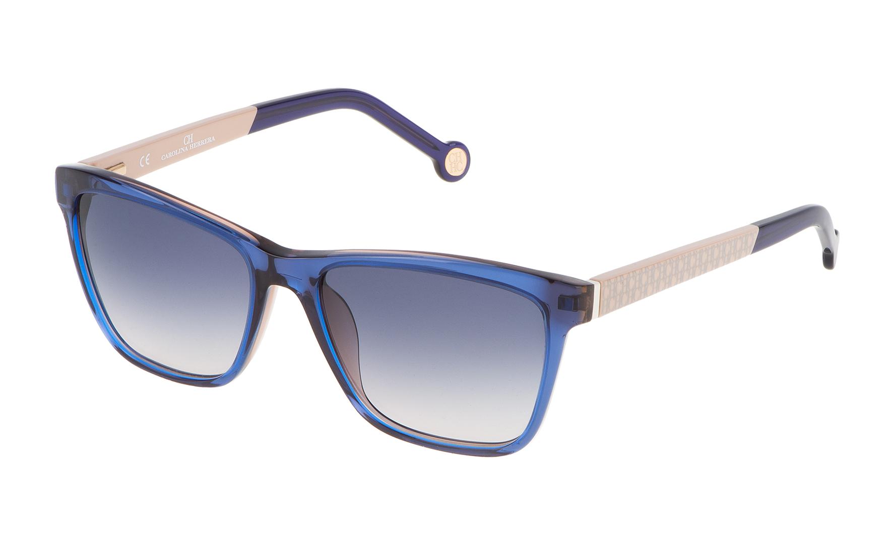 c45ff30987 Los materiales de esta nueva colección de gafas de sol Carolina Herrera son  el ...