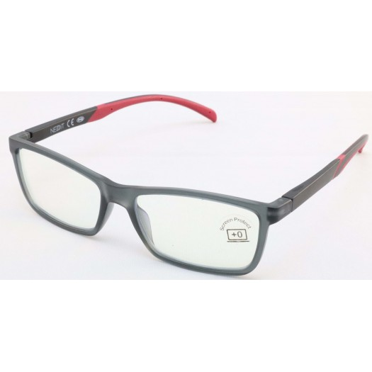 Gafas Protección Filtro Luz Azul de lectura, ordenador NEDDIT GF0177 GRIS