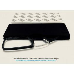 Gafas de Lectura RiTU con Funda Adhesiva de Silicona Negra