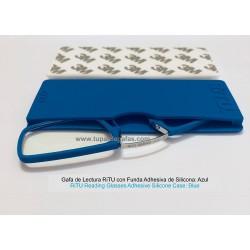 Gafas de Lectura RiTU con Funda Adhesiva de Silicona azul