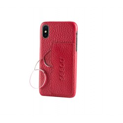 Funda Seeoo light Iphone X Roja