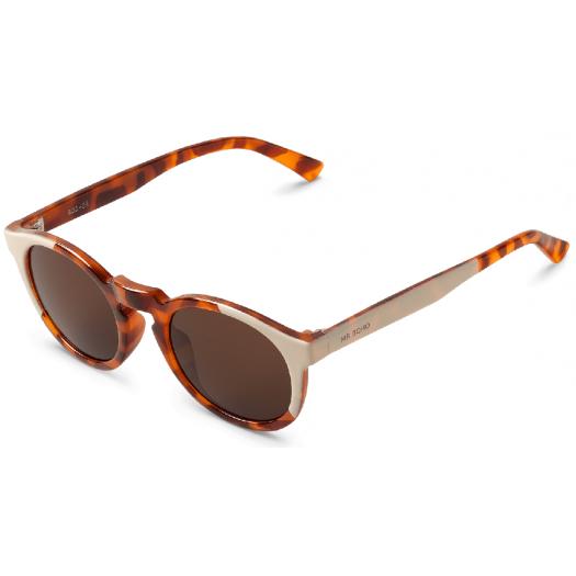 Gafas de sol MR. BOHO JORDAAN Cream/Leo Tortoise